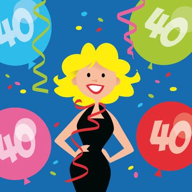 40 Jaar Spreuken Verjaardag.Verjaardagswensen 40 Jaar Leuke En Grappige Verjaardagswensen