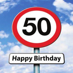 50 jaar verjaardagswensen kaartje