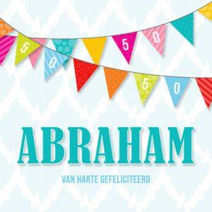 Abraham 50 jaar verjaardagswensen
