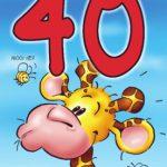 Verjaardagswensen 40 jaar kaartje