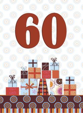 Verjaardagswensen 60 Jaar Gefeliciteerd 60 Jaar Teksten