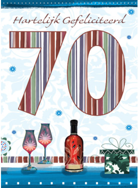 Verjaardagswensen 70 Jaar Gefeliciteerd 70 Jaar Teksten En