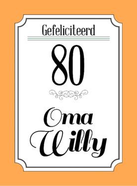 Verjaardagswensen 80 Jaar Teksten Voor Felicitatie Verjaardag 80 Jaar