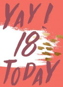 18 jaar verjaardagswensen