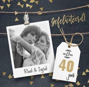 40 jaar samen