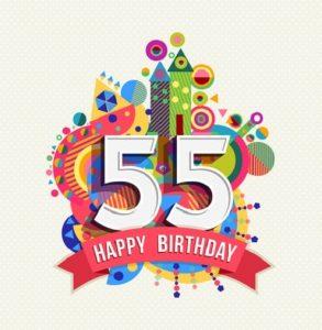55 jaar