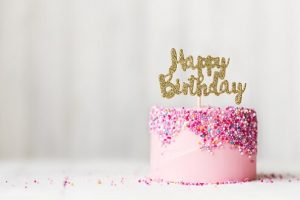 Gefeliciteerd met de verjaardag van je dochter
