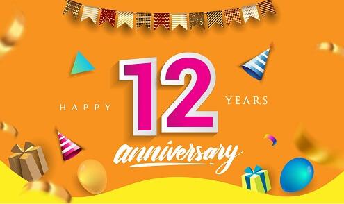 Hedendaags Verjaardag 12 jaar ⋆ Verjaardagswensen KR-53