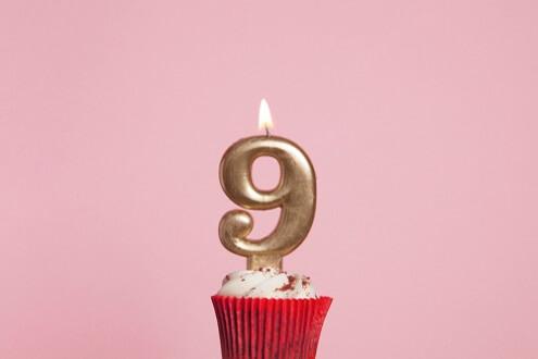 Verrassend Verjaardag 9 jaar ⋆ Verjaardagswensen TP-22